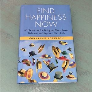 Find Happiness Now Hardback Book